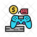 Game Device Rental Icon