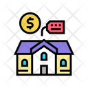 House Building Rental Icon