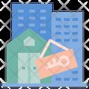 Rental Of Properties Properties Rent Icon