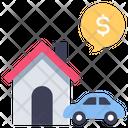 Rental Vehicle Business Icon