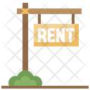 Rental Signboard Icon