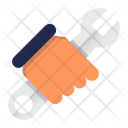 Repair Service Construction Icon