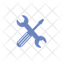 Shiled Lock Robot Icon