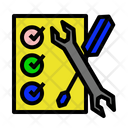 Manual Repair Fix Icon