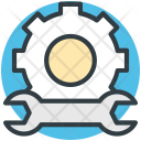 Repair Gear Wrench Icon