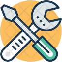 Repair Garage Tools Icon