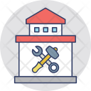 Home Construction Workshop Icon