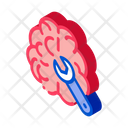 Brain Wrench Business Icon
