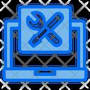 Laptop Electronic Repair Icon