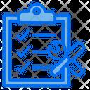 Check List Clipboard Service Icon