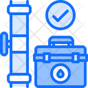 Pipe Repair Toolbox Icon