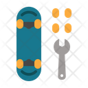 Repair Skateboard Icon