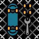Repair Skateboard Repair Custom Icon