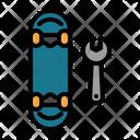 Repair Skateboard Repair Skates Icon