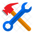 Wrench Hammer Tools Icon
