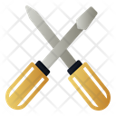 Screwdrive Tool Work Icon
