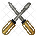 Screwdrive Tool Work Icon