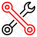 Toolkit Wrench Machine Icon