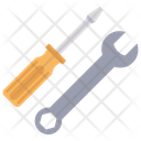 Screwdriver Spanner Wrench Icon