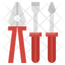 Repair Tool Clipper Screwdriver Icon