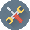 Repair Tools Garage Icon