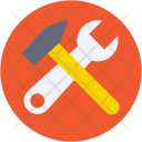 Repair Tools Hammer Icon