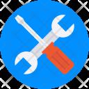 Repair Tools Garage Icon