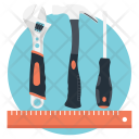 Drafting Tools Stationary Icon