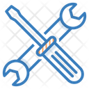 Repair Tools Spanner Wrench Icon