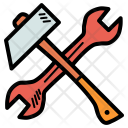Hammer Repair Spanner Icon