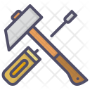 Hammer Repair Mechanic Icon