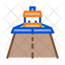 Road Repair Paver Icon