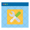 Website Online Repair Icon