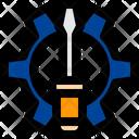 Repair Gear Setting Icon