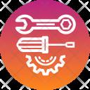 Spanner Cog Gear Icon