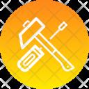 Hammer Labour Repair Icon