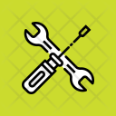 Spanner Screw Driver Icon