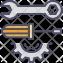 Repairing Tools Spanner Icon