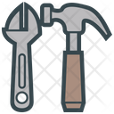 Tools Adjustable Hammer Icon