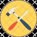 Reparing Tools Settings Screwdriver Icon