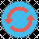 Loop Multimedia Music Icon