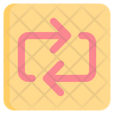 Repeat Two Arrows Repeating Icon