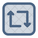 Repeat Loop Rotation Icon