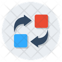 Replace Displace Substitute Icon
