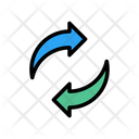 Replace Transfer Exchange Icon