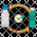 Replace Plastic Bottle Icon