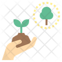 Replanting Forest Preservation Icon