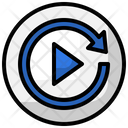 Replay Music Sound Icon