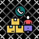 Replenishment Management Color Icon