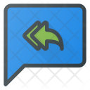 Reply Message Chat Icon